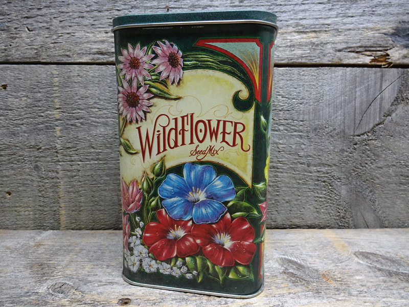 Wildflower Seed Mix Tin