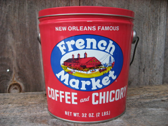 New Orleans French Market Coffee Tins