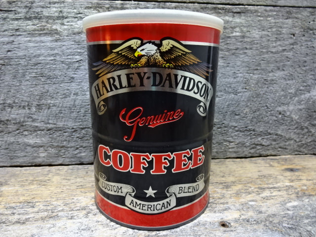 Motorcycle Coffee Tin