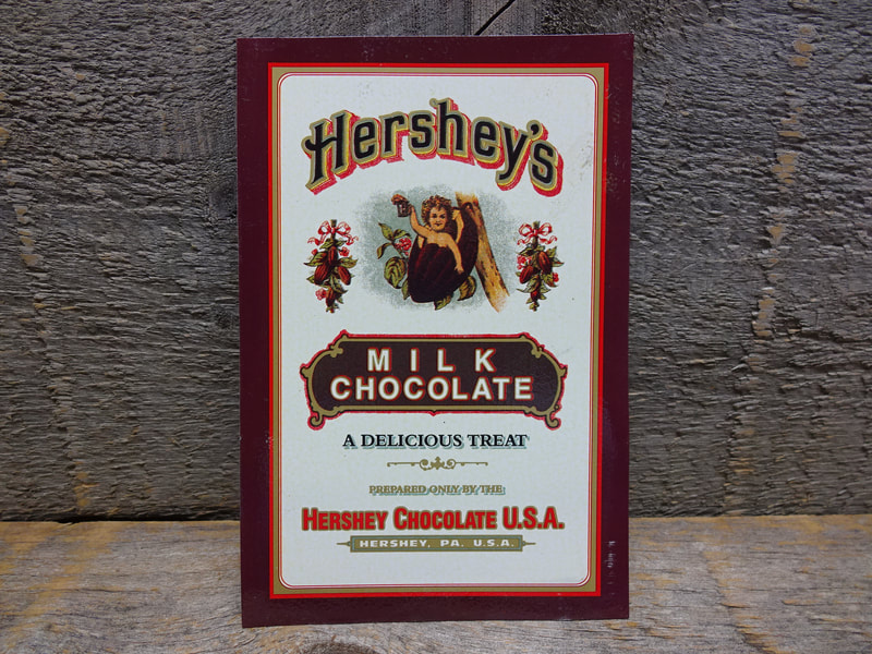 Hersheys Chocolate Tin Old Label Style