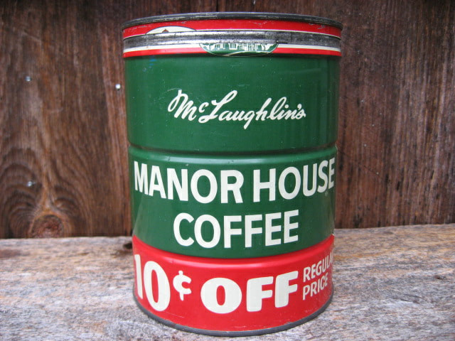 McLaughlins Manor House Coffee Tin
