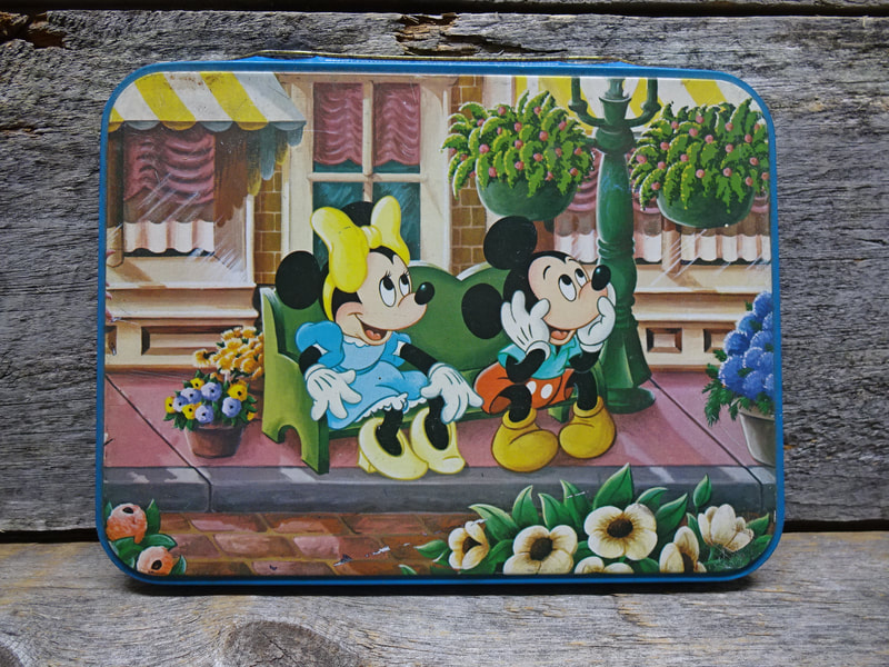 Mickey And Minnie Mouse Tin