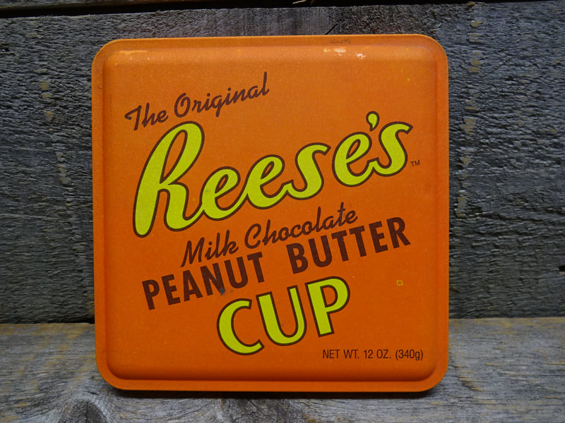 Reeses Peanut Butter Cups 1994 Tin