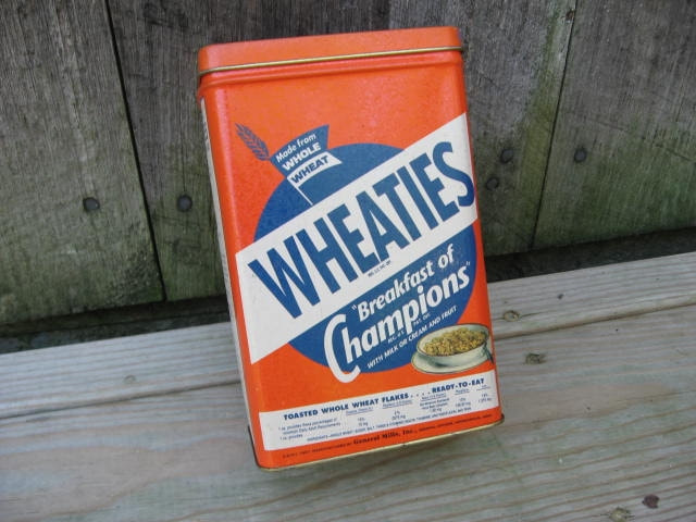 Wheaties Cereal Tin